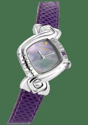 DELANCE – Violet Steel Quartz 26mm