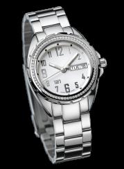 121TIME - Challenger Lady Quartz 68 diamonds 31mm