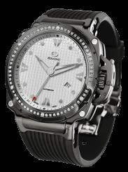 EDMOND – Black Diamond Steel Automatic Black 44mm