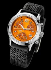 121TIME - Grand Central Steel Quartz chrono 39mm