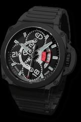EDMOND – Pôle Guardian Black II Metal Steel Automatic 44mm
