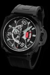 EDMOND – Pôle Guardian Black II Rubber Steel Automatic 44mm